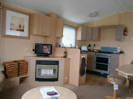 Combe Martin, UK: Inside of caravan