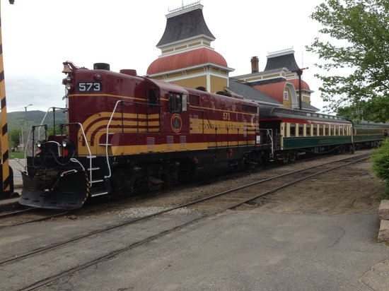 Buttonwood Inn on Mount Surprise: The train