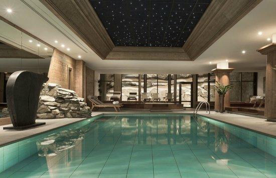 Hotel les Barmes de l'Ours : Spa