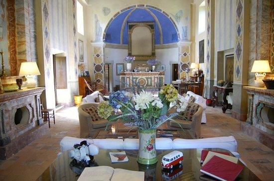 Borgo di Carpiano: Welcome/Living Room...called the Church.
