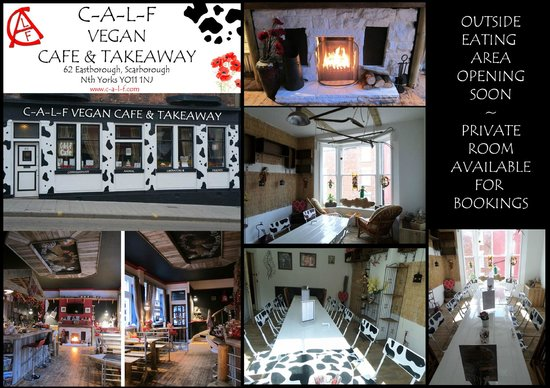 Calf Sanctuary Cafe: C-A-L-F Vegan cafe & craft shop