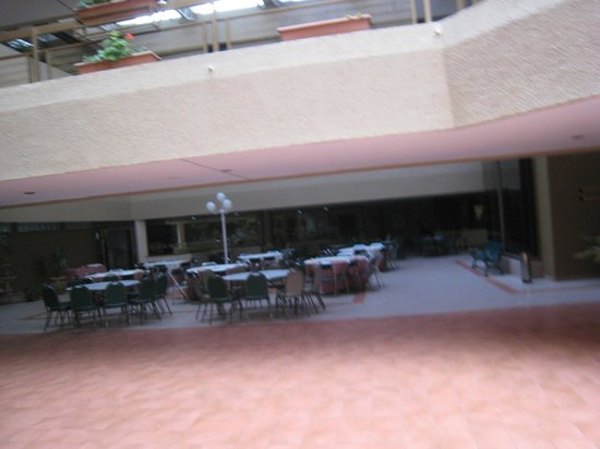 Best Western Plus Plaza Florida & Tower: Comedor externo