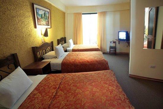 Hotel de la Villa Hermoza: Habitación