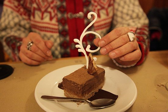 Hotel d'Izoard : Dessert reveillon