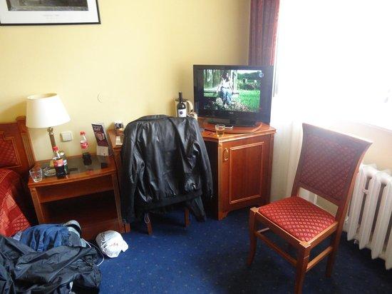 Hotel Belvedere: room with TV