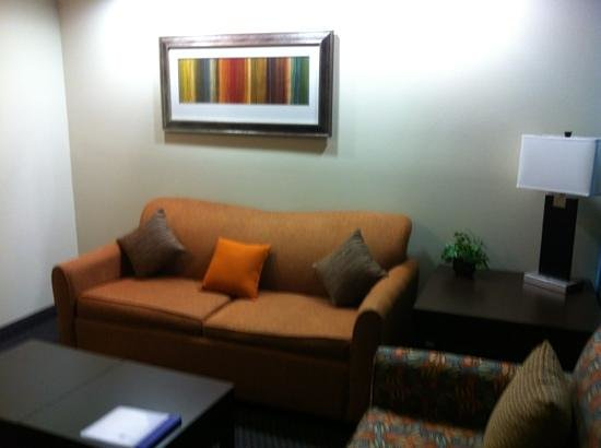 SpringHill Suites Waco Woodway: sitting area