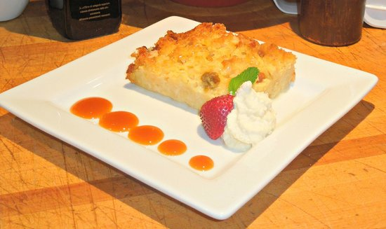 Pane E Vino: Golden Raisin Bread Pudding