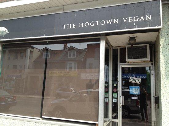 Hogtown Vegan: Restaurant Exterior
