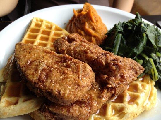 "Hogtown Vegan: ""chicken"" and waffle"
