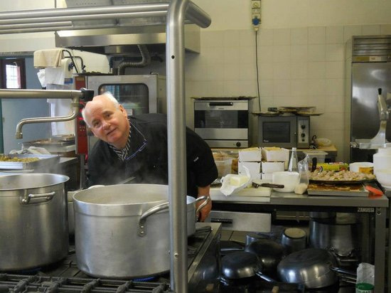 Arqua Petrarca, إيطاليا: Lo Chef Gino