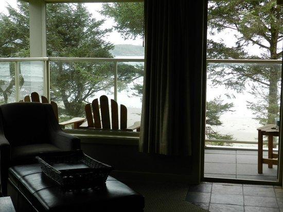 Pacific Sands Beach Resort: Balcony view