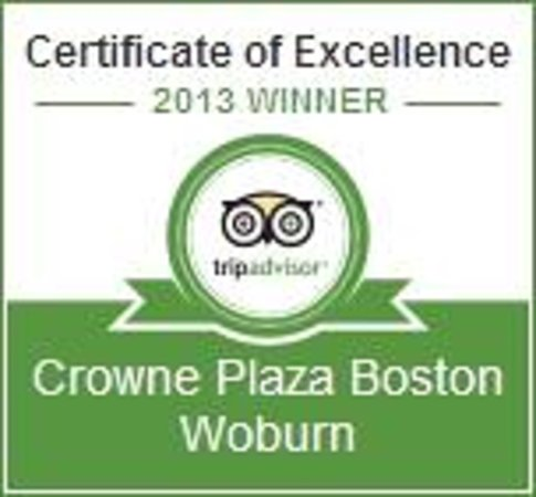Crowne Plaza Boston Woburn: Thank You for Your Reviews