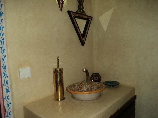 Dar Al Aafia: Salle de bains de notre chambre