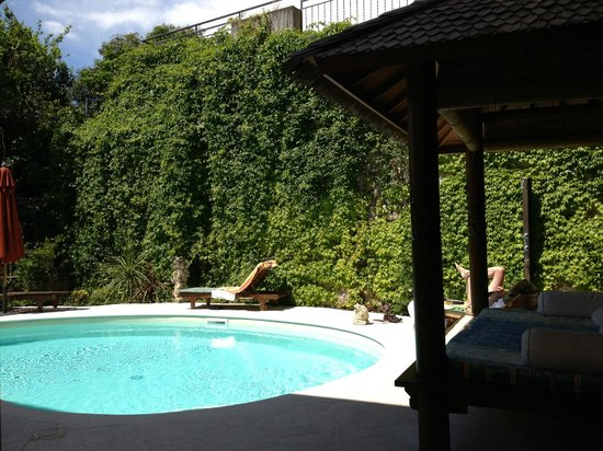 Locanda Agli Angeli Garni: Der Pool