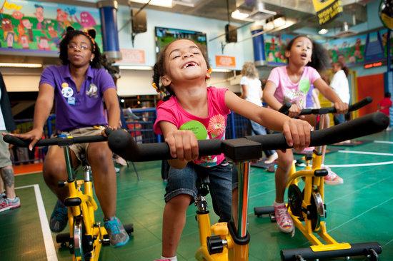Port Discovery Children's Museum : Get healthy and fit in Kick It Up!.