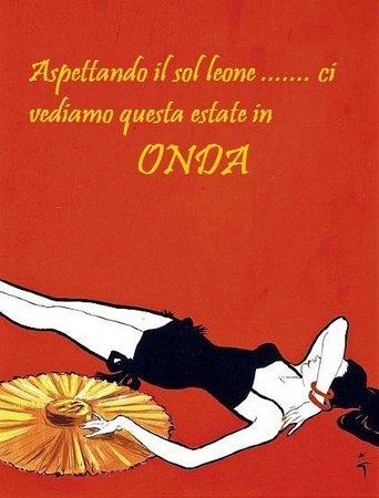 Hotel Onda Marina : cartolina