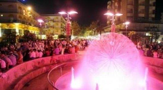 Hotel Onda Marina : notte rosa