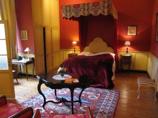 Château de la Ballue : the victor hugo room