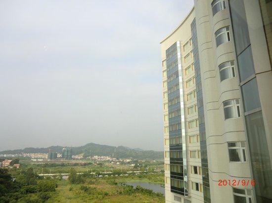 Nansha Grand Hotel: ホテルの窓から