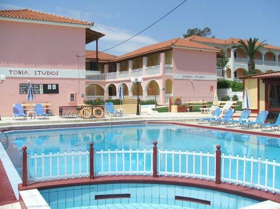 Dionysis & Tonia Studios: pool area