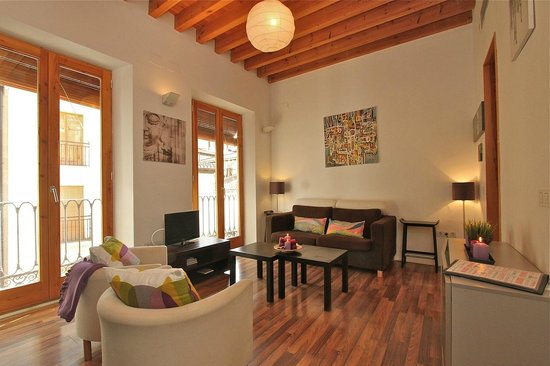 Apartamentos Gomerez 39 : Salón