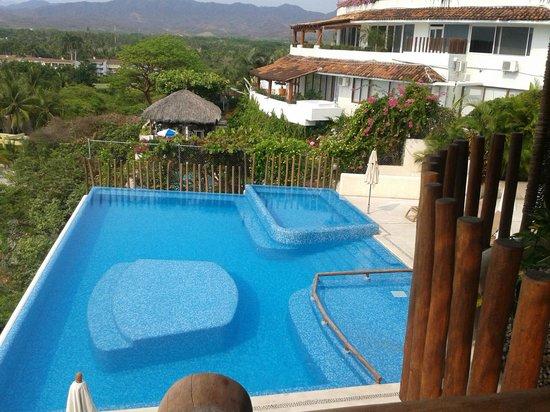 Pacifica Resort Ixtapa: Alberca desde habitación