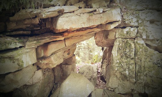 "Beartown State Park: Rock ""Tunnel"" (not accessable for entry)"
