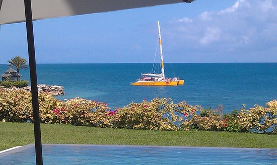 Blue Waters Antigua: From our Cove Suite Patio