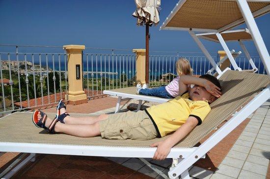 Hotel Piccolo Residence: Пляжники в Piccolo