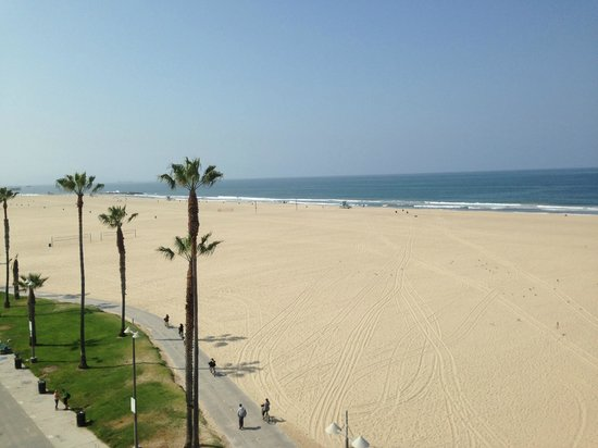Cadillac Hotel View Of Venice Beach From The Rooftop