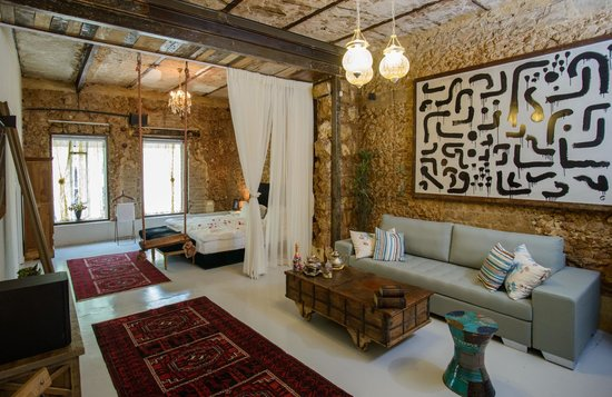 Trieste Neve Tzedek Boutique Suites: royal/family suite