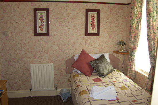 Caroldene Hotel: Single room