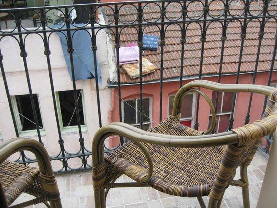 Tom Square Boutique Hotel: la terrazza della stanza
