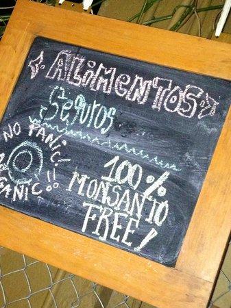 Indigo resto sustentable: 100% Monsanto Free