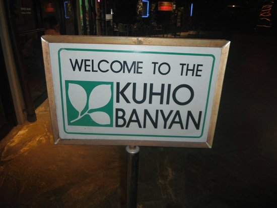 Kuhio Banyan Club : Enter through the Courtyard, not the street