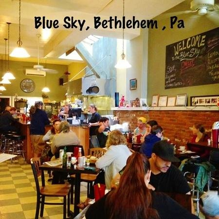 Blue Sky Cafe : great atmosphere!