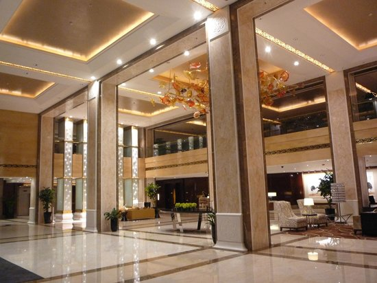 The Imperial Mansion, Beijing Marriott Executive Apartments: Lobby
