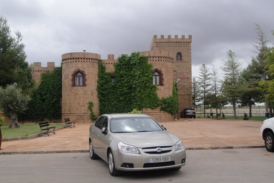 Vinedos y Bodegas El Castillo: entrada
