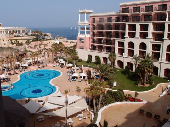 The Westin Dragonara Resort, Malta: View from room 663