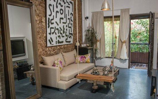 Trieste Neve Tzedek Boutique Suites: honeymoon/deluxe suite