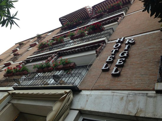 Hotel Rigel: Outside