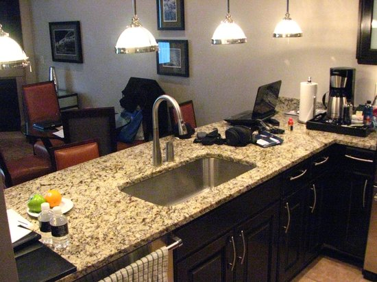 Waldorf Astoria Park City : another view of kitchen