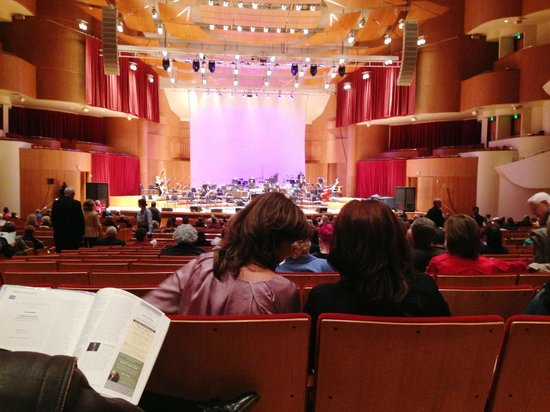 Perfect Sound And Seating Review Of Joseph Meyerhoff Symphony Hall Baltimore Md Tripadvisor