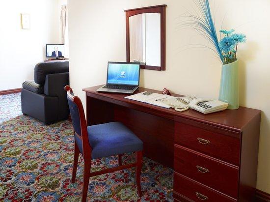 Appleby Inn Hotel: Wokrstation/Desk in all rooms