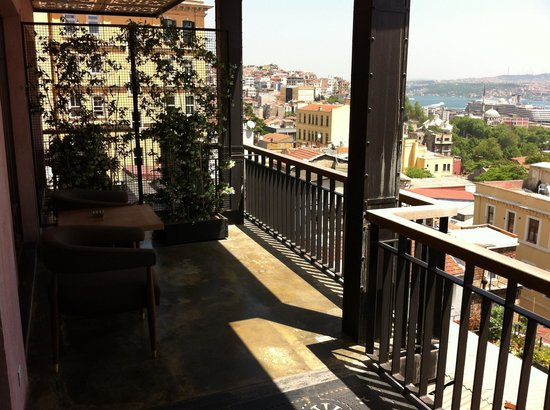Georges Hotel Galata: Our terrace