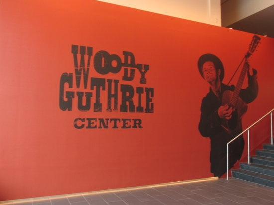 ‪Woody Guthrie Center‬
