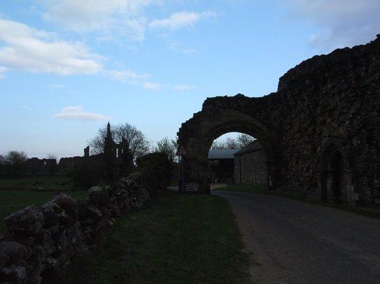 Byland Abbey gateway