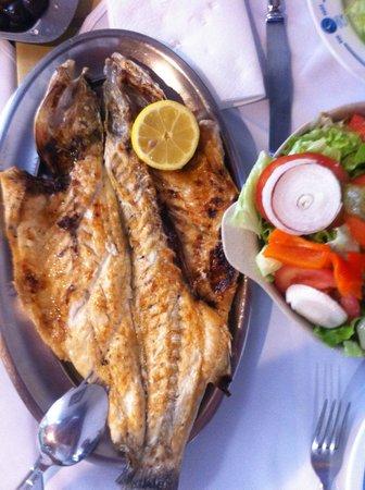 Don Peixe Restaurante Grill: Robalo Grelhado e Salada