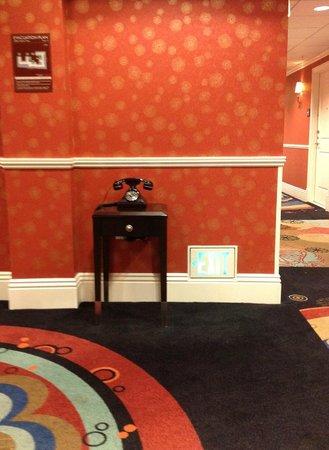 Hotel Shattuck Plaza: foyer near elevator on an upper floor