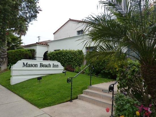 Mason Beach Inn: entree de l hotel